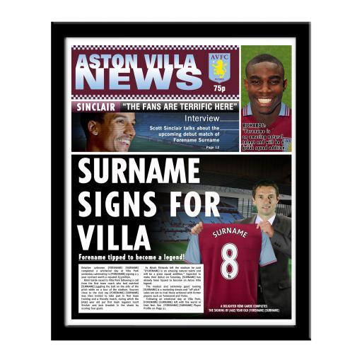 Aston Villa FC News