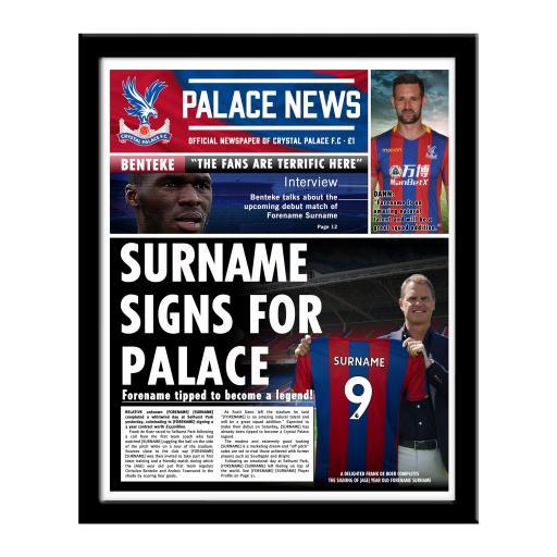 Crystal Palace FC News