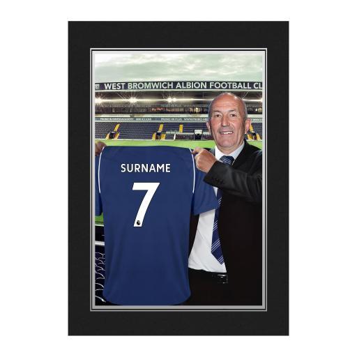 West Bromwich Albion FC 9x6 Manager Photo Folder