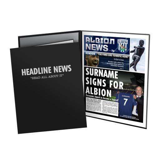 West Bromwich Albion FC News Folder