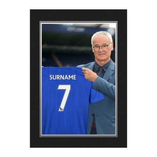 Leicester City FC 9x6 Manager Photo Folder
