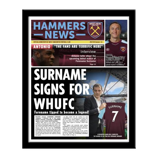 West Ham United FC News