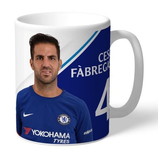Chelsea FC Fabregas Autograph Mug