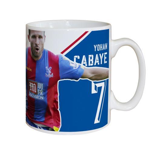 Crystal Palace FC Cabaye Autograph Mug