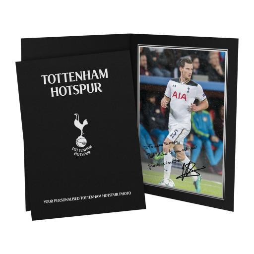 Tottenham Hotspur FC Vertonghen Autograph Photo Folder