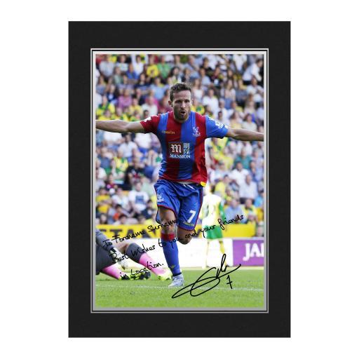 Crystal Palace FC Cabaye Autograph Photo Folder