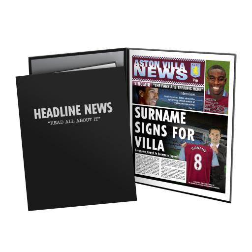 Aston Villa FC News Folder