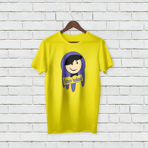 Personalised Text Future Husband T-Shirt (3).jpg
