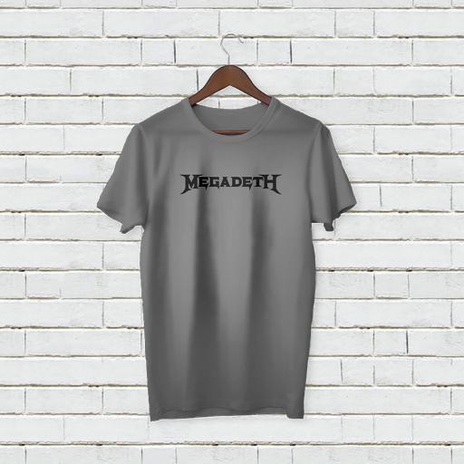 Personalised Text Megadeth Logo T-Shirt (4).jpg