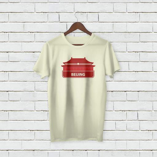 Personalised Text City Beijing Tshirt (2).jpg