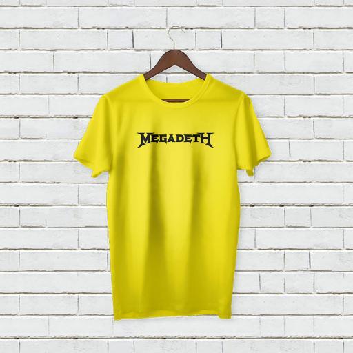 Personalised Text Megadeth Logo T-Shirt (2).jpg