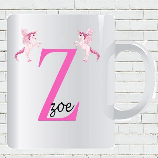 Untitled-1_0025_Personalised Text Unicorn Z and Add Your Name Mug.jpg.jpg