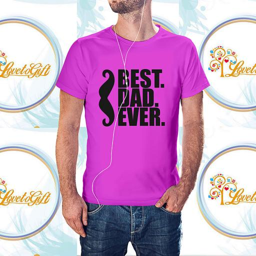 Best Dad Ever Moustache Personalised T-Shirt (2).jpg