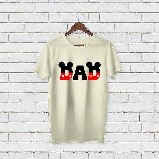 Personalised Text Dad Father Micky Mouse inspired love tshirt (1).jpg