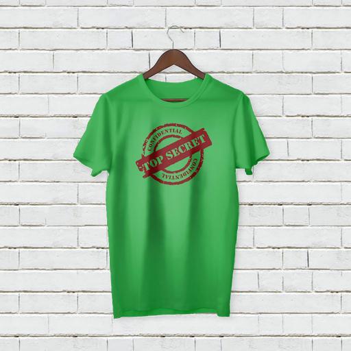 Personalised Text  Confidenital  Top Secert T-shirt (1).jpg
