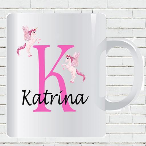 Untitled-1_0010_Personalised Text Unicorn K and Add Your Name Mug.jpg.jpg