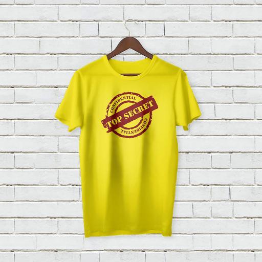 Personalised Text  Confidenital  Top Secert T-shirt (4).jpg