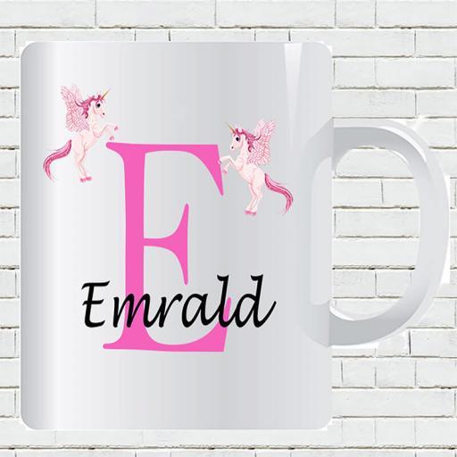 Untitled-1_0004_Personalised Text Unicorn E and Add Your Name Mug.jpg.jpg