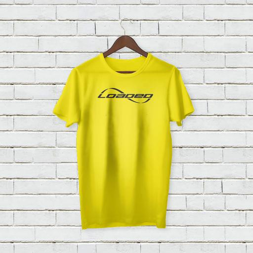 Personalised Funny Text Loaded Logo T-Shirt 2.jpg