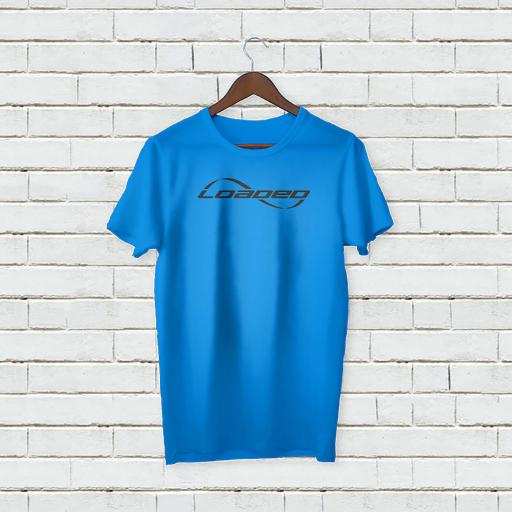 Personalised Funny Text Loaded Logo T-Shirt 1.jpg