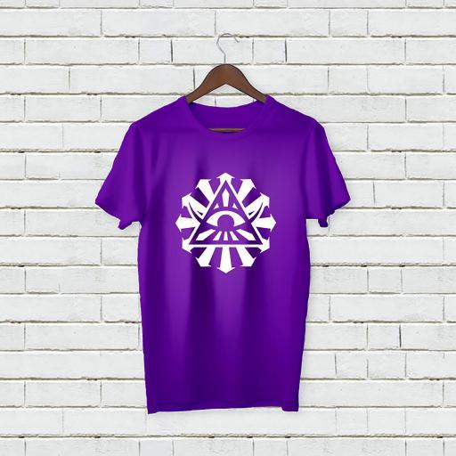 Personalised Text Devil Eye Name T-Shirt (4).jpg