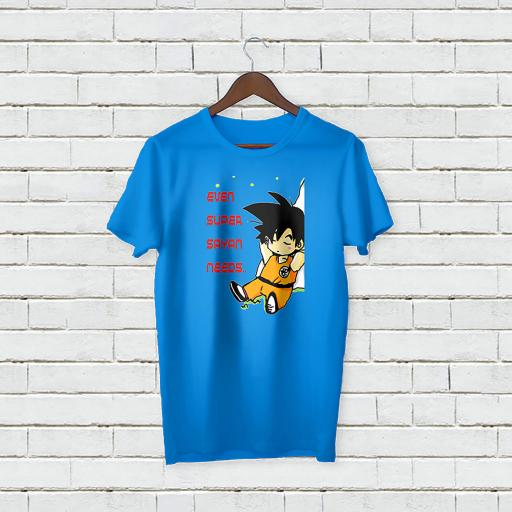 Personalised Even Super Sayan Needs Rest T-Shirt - Add Your Text/Name