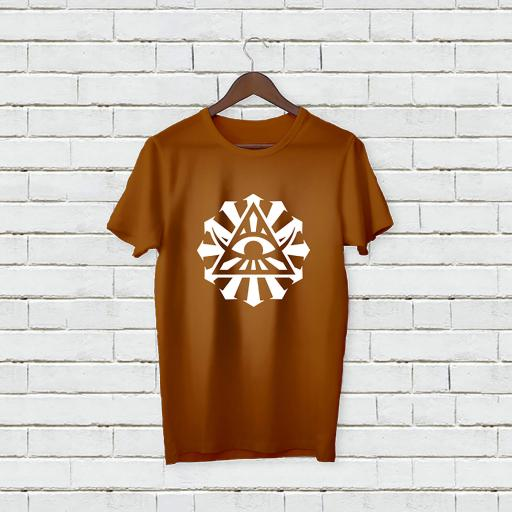 Personalised Text Devil Eye Name T-Shirt (3).jpg