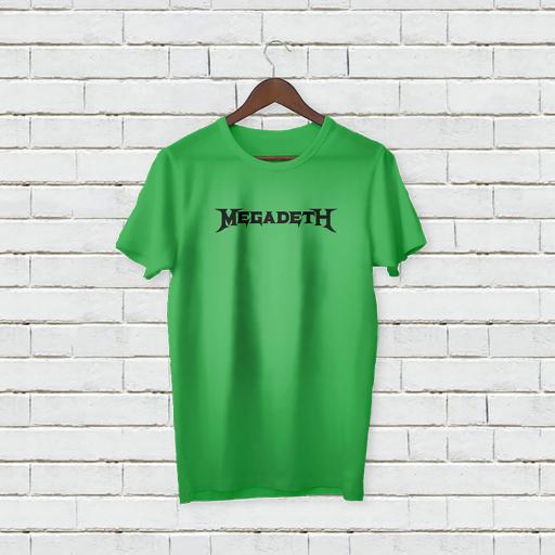 Personalised Text Megadeth Logo T-Shirt (1).jpg