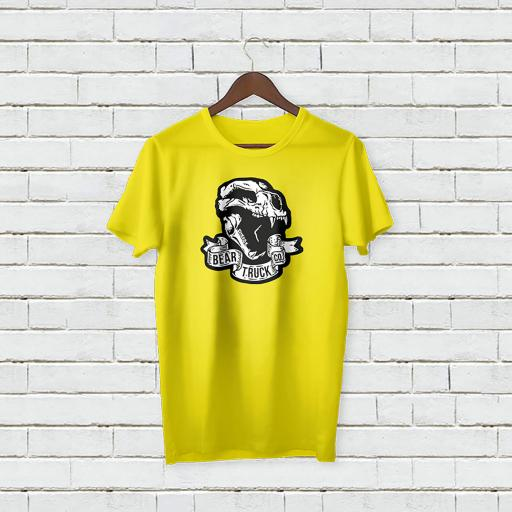 Personalised 'Bear Truck Co' T-Shirt - Add Your Text/Name