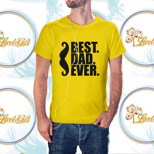 Best Dad Ever Moustache Personalised T-Shirt (1).jpg