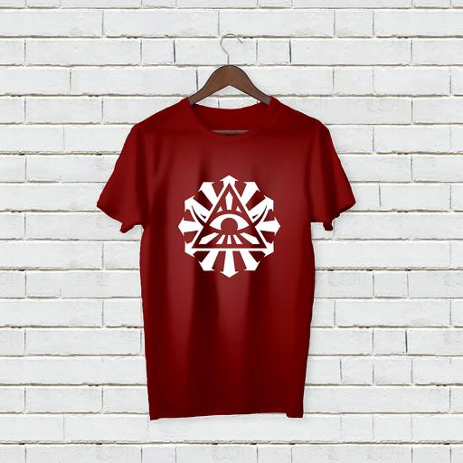 Personalised Text Devil Eye Name T-Shirt (2).jpg