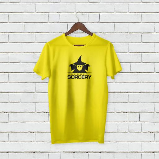 Personalised Text Secret Sorcey Creative Innovation  t-shirt (1).jpg