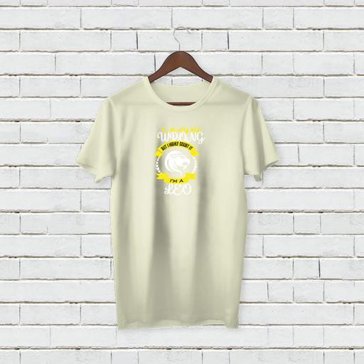 I may be wrong but I highly doubt It - I'm A LEO Personalises T-shirt (3).jpg