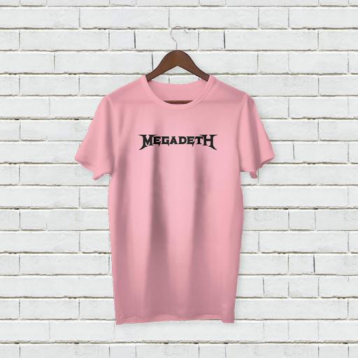 Personalised Megadeth Logo T-Shirt - Add Your Text/Name