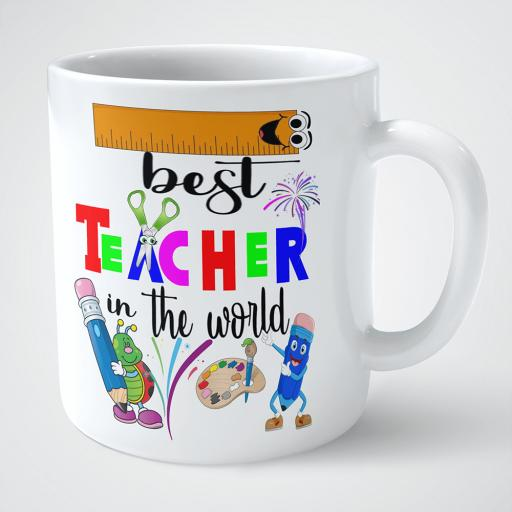 Personalised mug gift for the best teacher in the world.png