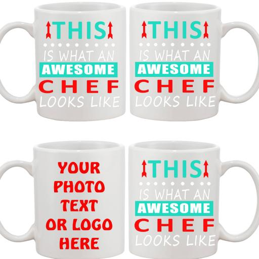 Personalised funny text mug this is what awesome chef looks like.jpg