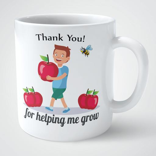 Thank you for helping me grow personalised mug.png