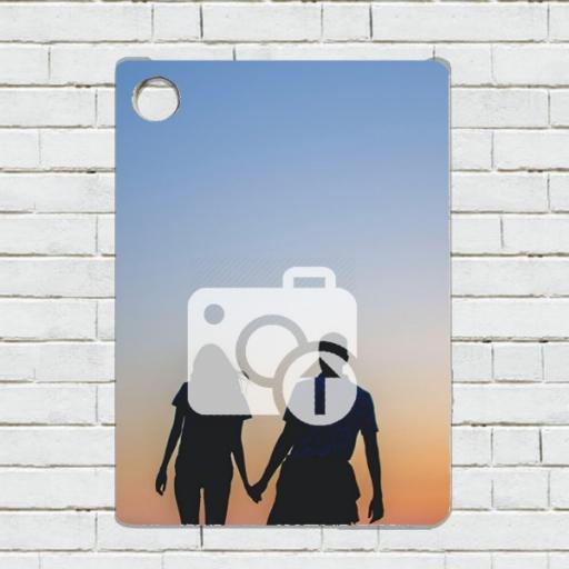 Personalised Rectangular Photo Keyring
