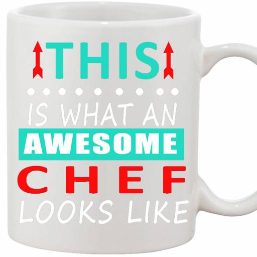 Funny text personalise mug this is what an awesome chef gift.jpg