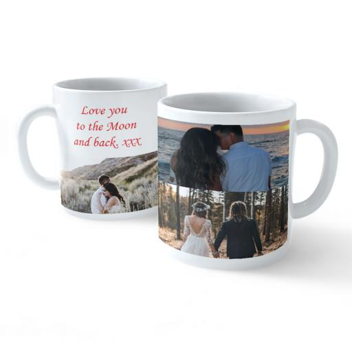 Photo upload personalised mug  love you to the moon and back Couple gift.jpg