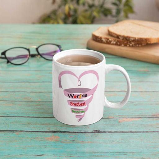 Personalised Worlds Greatest Teacher Mug