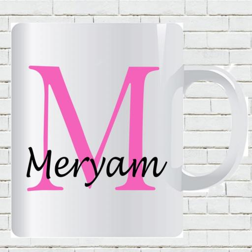 Personalised Text Mug For Her- Initial M & Name-min.jpg
