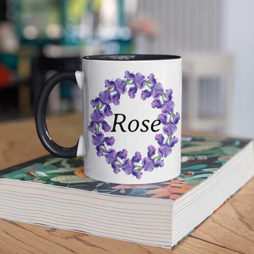 Black-Colour-inside-Flower-Wreath-Design-Personalised-Mug.jpg