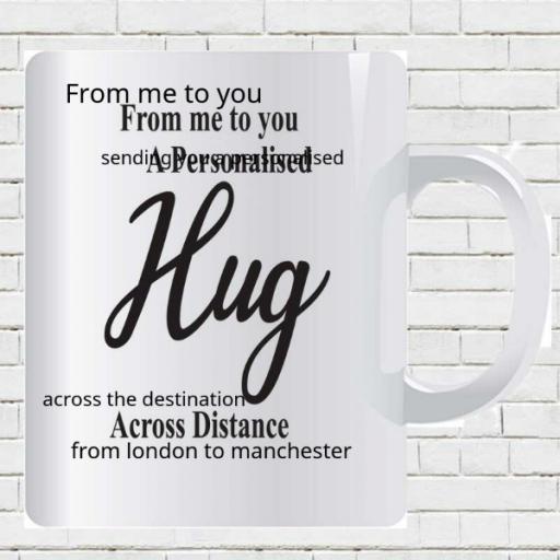 Me to You Personalised Hug Mug - Add Names/Locations/Message