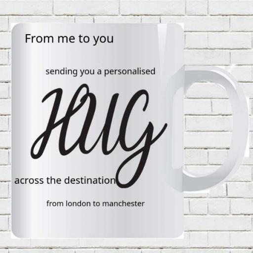 Personalised Me to You Hug Mug - Add Names/Locations/Message