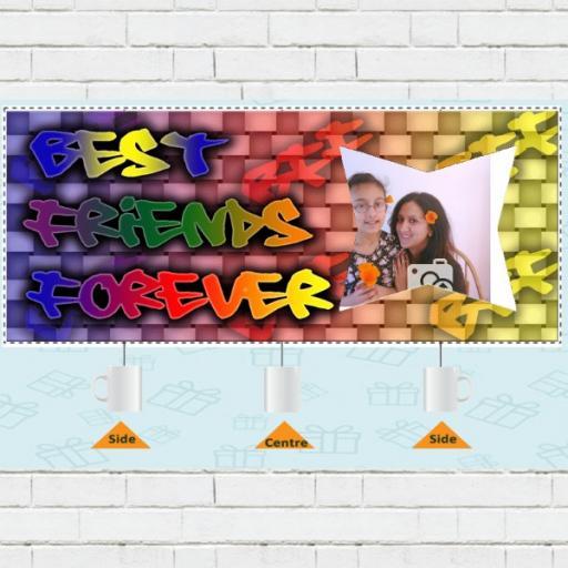 Photo Upload Best Friends Forever Mug