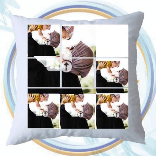 Personalised Multi Photo Collage Cushion -6 Photos Collage