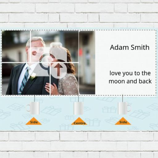 5 Photo Collage Personalised Mug