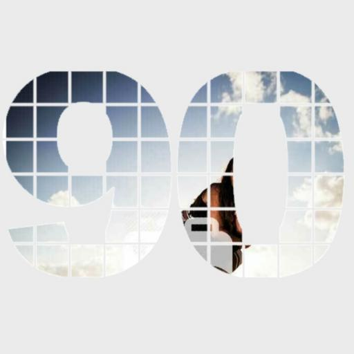 Personalised Photo Wall Art - 90 Years
