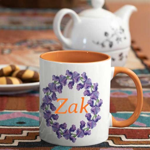 Orange-Colour-inside-Flower-Wreath-Design-Personalised-Name-Inside-Mug.jpg